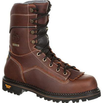 Georgia Amp Lt Logger Low Heel Waterproof Work Boot