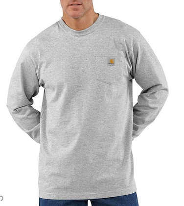 Carhartt Workwear Long-Sleeve Pocket T-Shirt