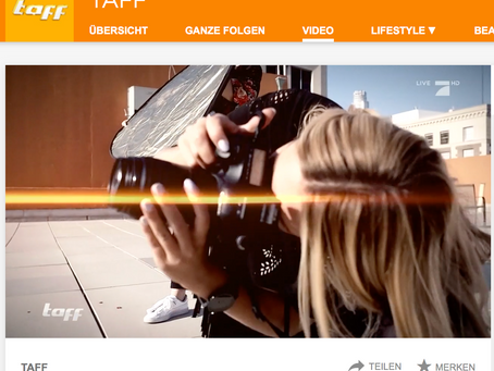 LA BOUFFIER PHOTOGRAPHY featured on german TV // Hollywood Madness // TAFF // PRO7