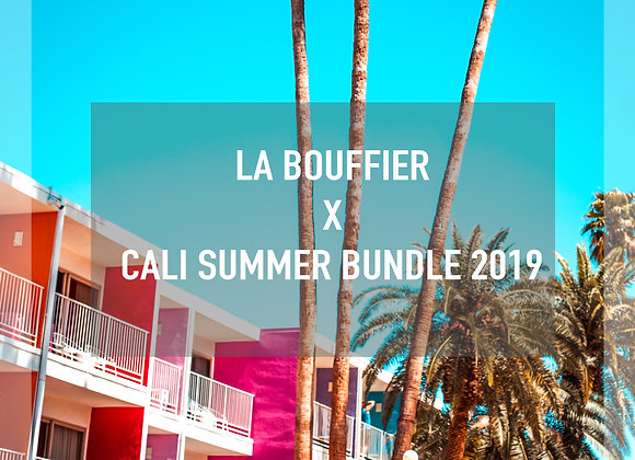 LA BOUFFIER LIGHTROOM PRESETS – CALI SUMMER BUNDLE 2019