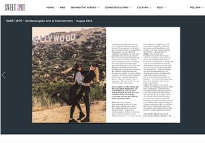 Photographers Los Angeles Magazine Article La Bouffier Photography German Press GTS Geheimtipp Stuttgart Hollywood Girlboss Freelancing Females in Business Jason Derulo Behind the scenes Derulofam