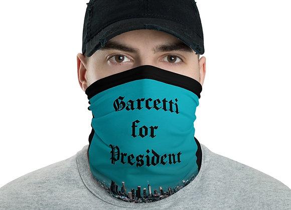 GARCETTI FOR PRESIDENT MASK COLORED