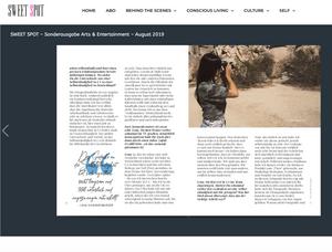 photographers Los Angeles Magazine Article La Bouffier Photography German Press GTS Geheimtipp Stuttgart Hollywood Girlboss Freelancing Females in Business KTLA Millennial Mom Jenna Barnett