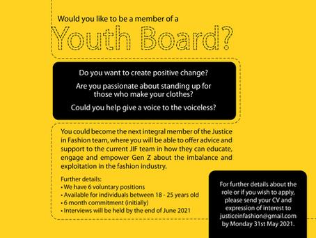 Join our Youth Board