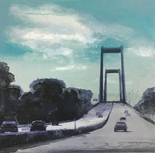 'Nye Lillebaeltsbro', Ardi Brouwer, lith