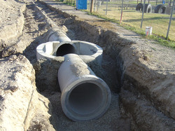 Storm Sewer and Manhole