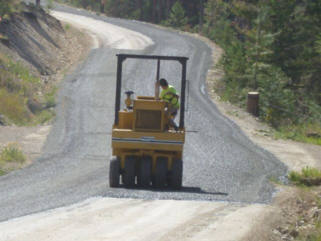 Martinez Gulch Road Reconstruction