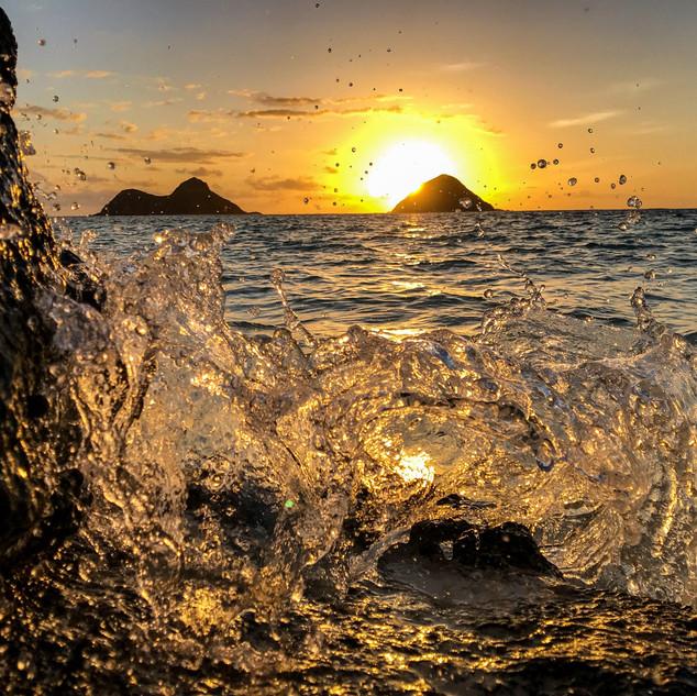 A splash of sunrise