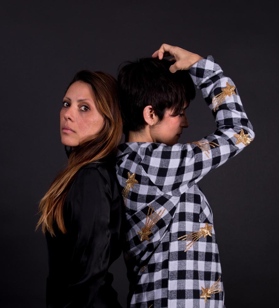 Claudia Padilla  and Yvonne Venegas