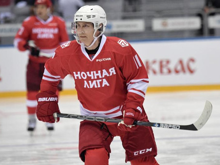 Without a Doubt, Putin Sucks at Hockey