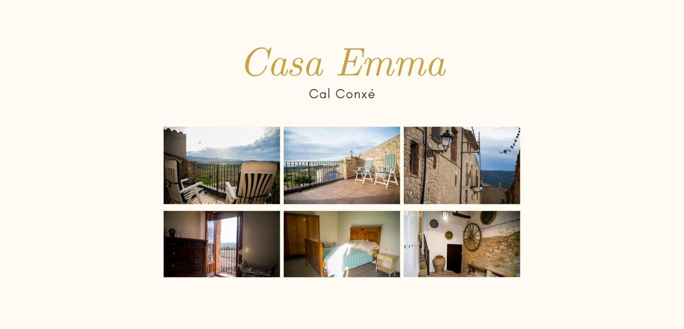 Cal Conxé El Vilosell Casa Emma alojamientos con encanto
