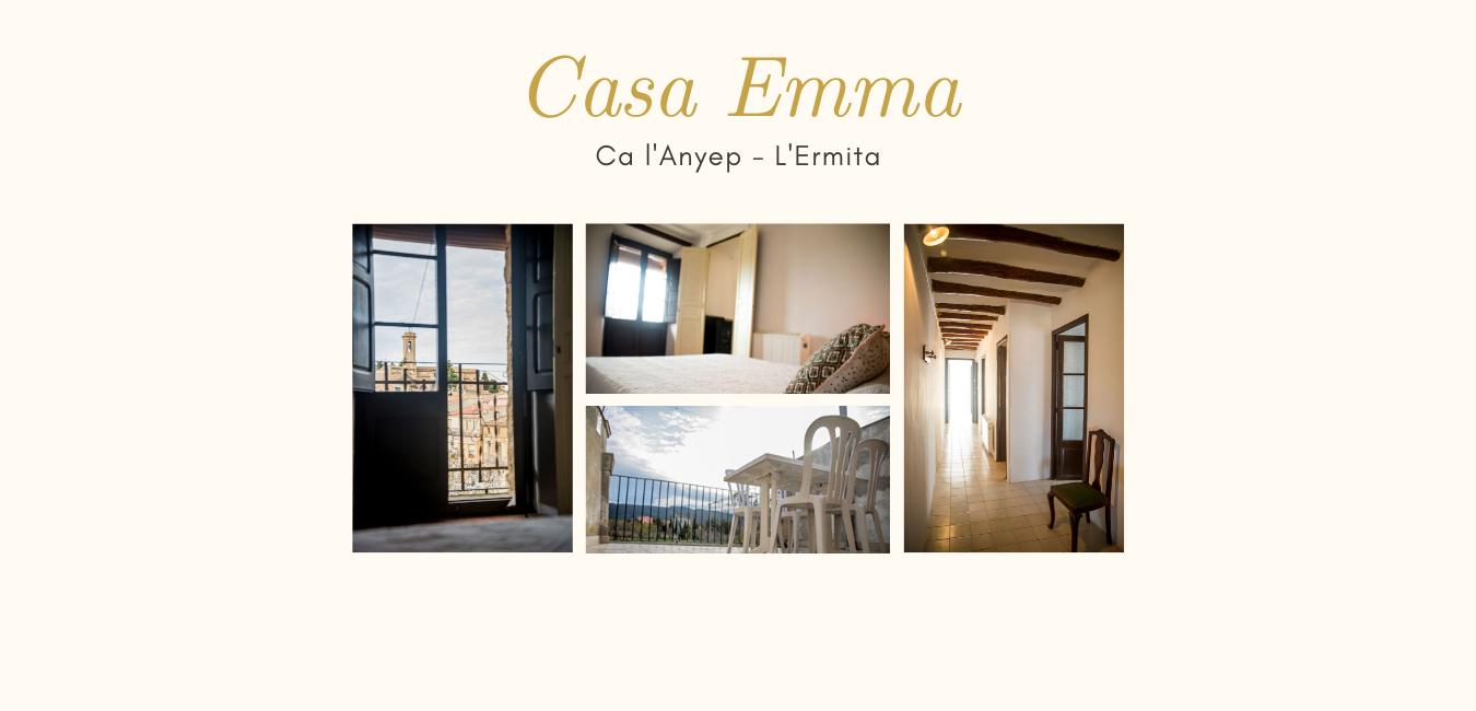 Ca l'Anyep - L'Ermita El Vilosell Casa Emma alojamientos con encanto