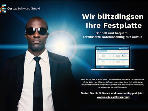 Blitzdingsen im Marketing von Certus Software GmbH