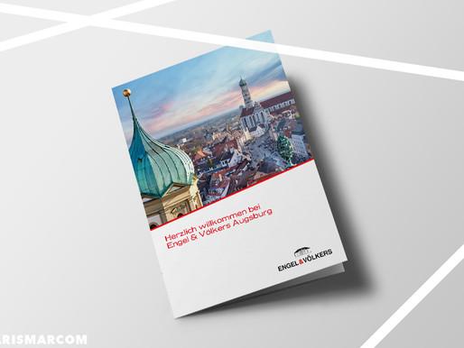 Türöffner: Hochwertige Marketingmedien für Engel & Völkers Augsburg