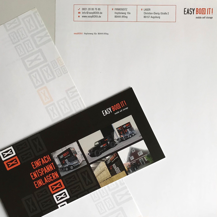 Corporate Design easyBOXit!