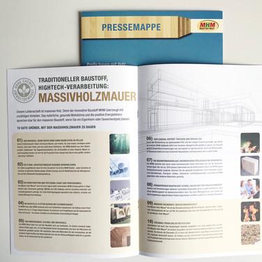 Massivholzhaus - Imagebroschüre