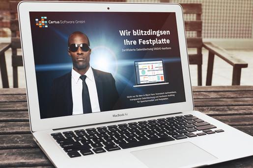 Certus Software Webseite