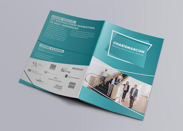 Imagebroschüre Agentur Charismarcom