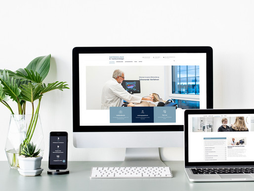 Corporate Design Relaunch: Gefäßklinik Dr. Tsantilas & Kollegen