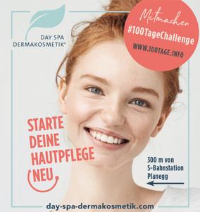 Werbekampagne für Day Spa Dermakosmetik