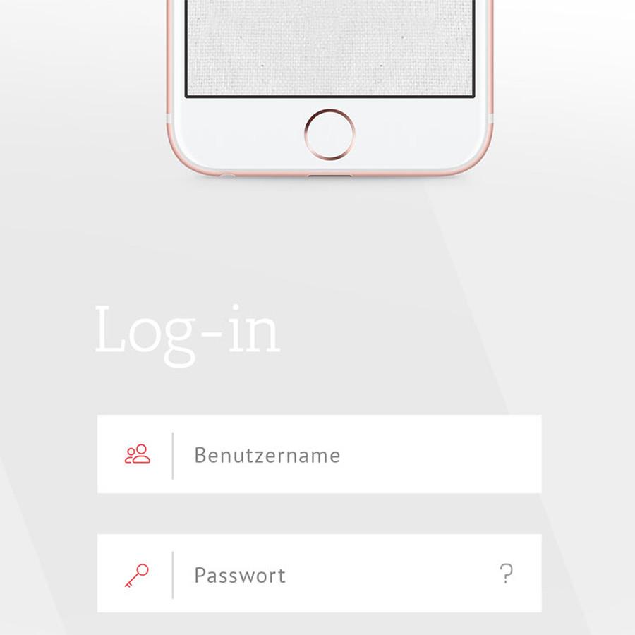 Konzeptionelle und grafische Entwicklung der Web-App für c|mc GmbH