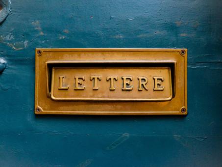 Ein Brief von meinem zukünftigen Ich