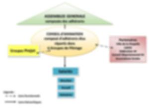 L'organisation de la MPT