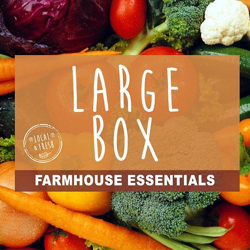 Large - Farmhouse Fruit & Veg Box