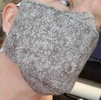 Face Buddy - Cotton Mini Flowers Grey Ch