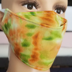 Face Buddy - Cotton Green Tie-dye right