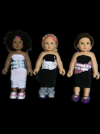 BB HEIGHLEIGH & TESIA & ALYSHA -  in their mini Higgy Bears braces & Mini Brace Buddies Body Socks