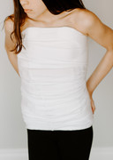 White Orthotic Body Sock Shirt