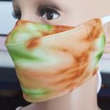 Face Buddy - Cotton Green Tie-dye left s