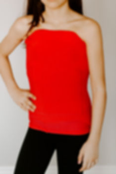 Red Orthotic Body Sock Shirt