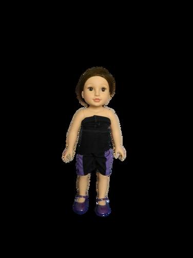 BB TESIA - in her mini Higgy Bears brace & Mini Brace Buddies Body Sock