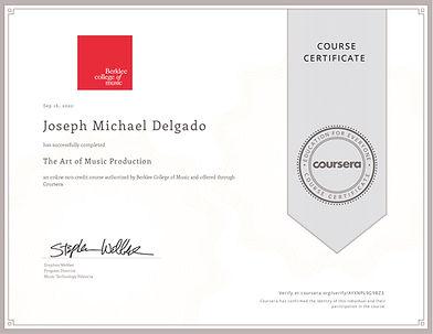 Mic Delgado Berklee Certified Music Audio Production Music Producer Audio Engineer
