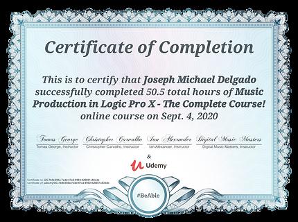 Mic Delgado Certified Music Audio Production Music Producer Audio Engineer
