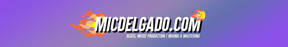 Mic Delgado Music Website Audio Engineer Production