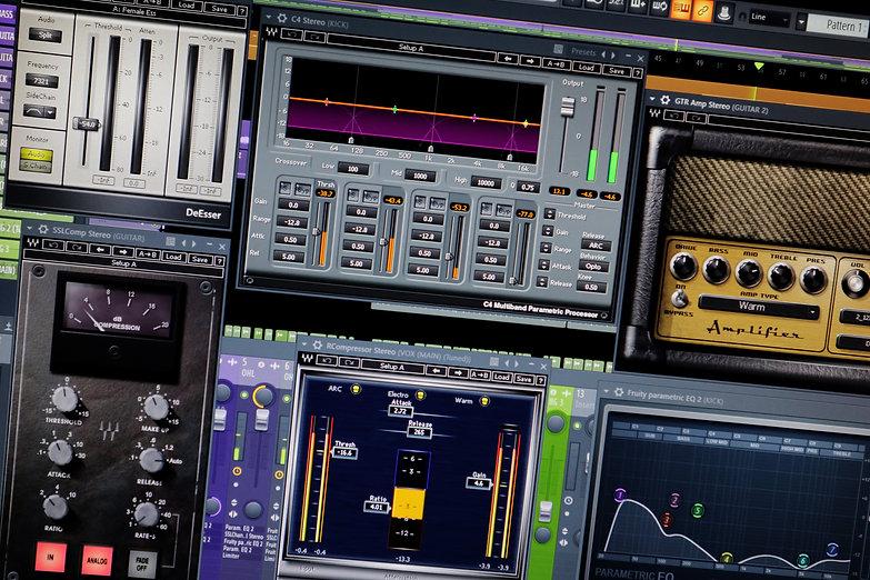 Mic Delgado Waves Audio Plugins