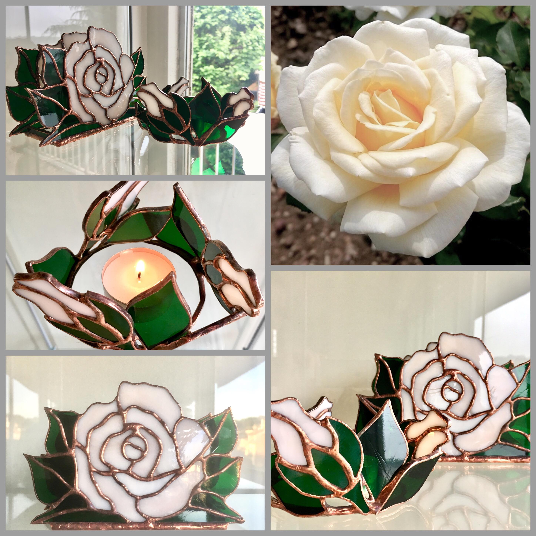 Roses art de la table