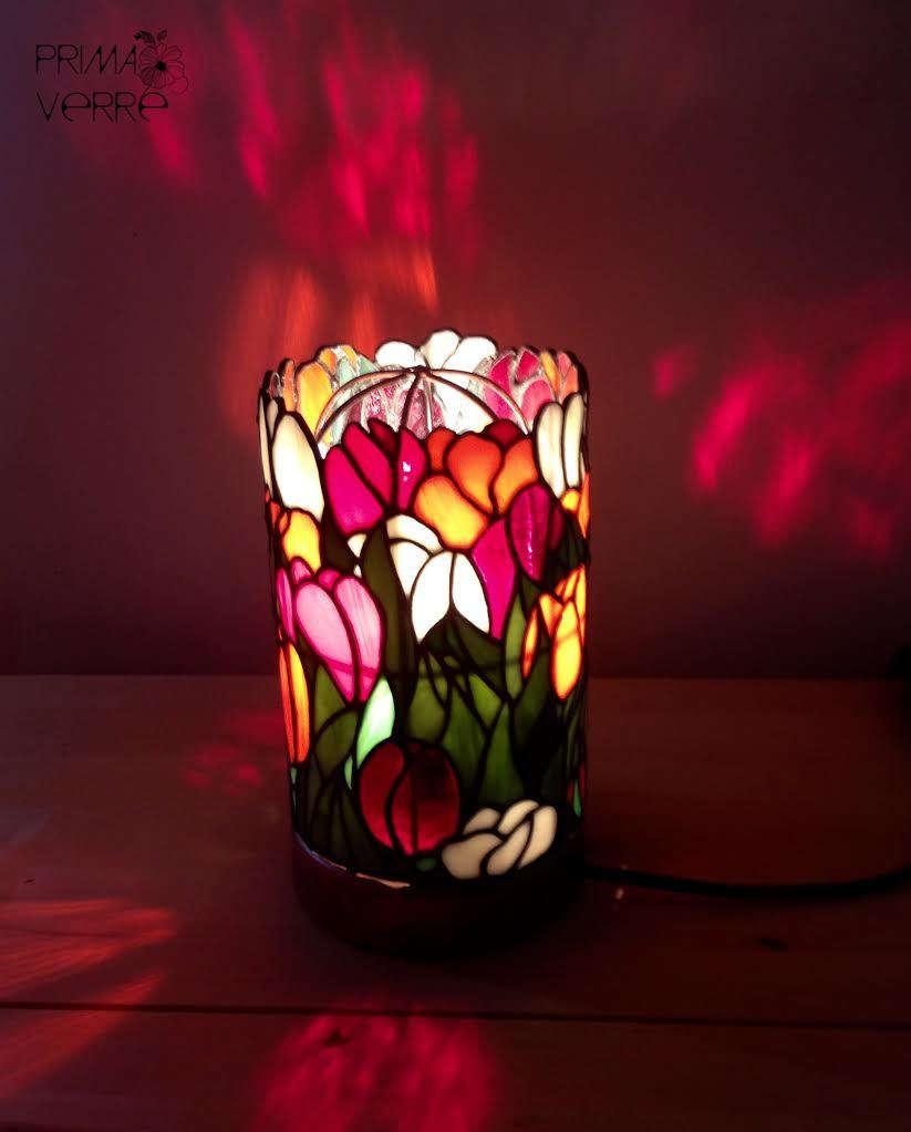 """Настольная лампа """"Тюльпаны"""""""