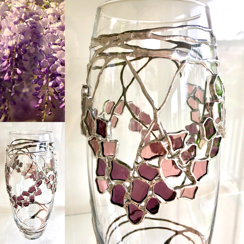 Vase Wisteria