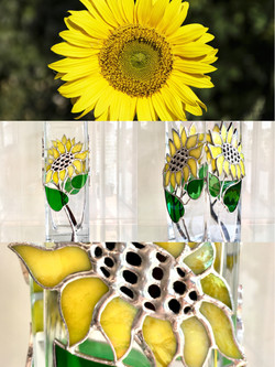 Vase Sunflower