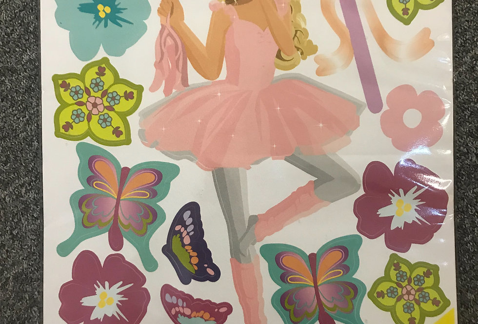 Fun to See Barbie Themed Room Stickers