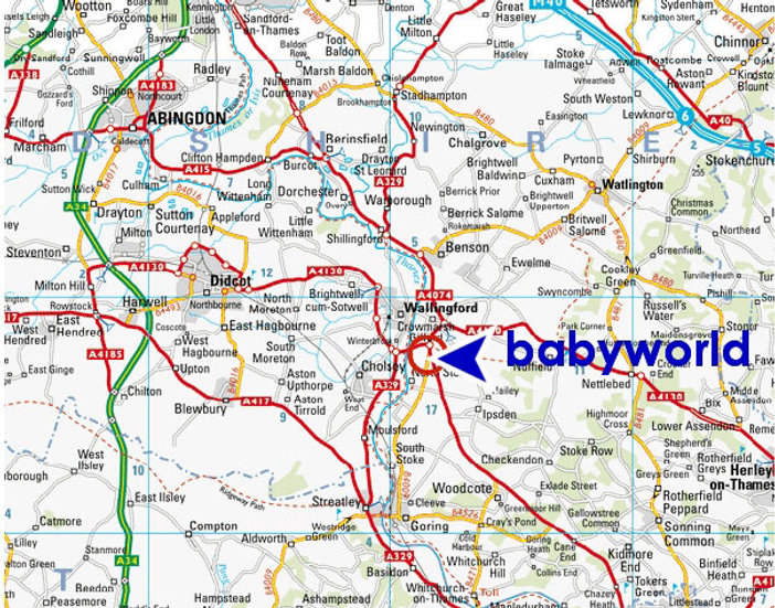 Pushchairs and Car Seats, near Wallingford, Henley on Thames, Abingdon, Oxford, Reading, High Wycombe