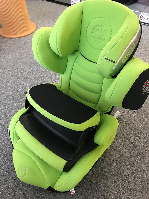 Kiddy Phoenixfix 3 Car Seat - Ex Display - Green