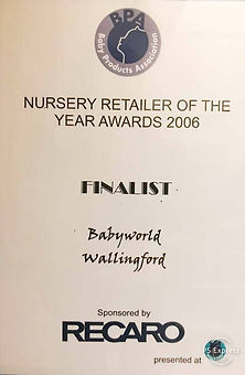 Nursery Retailer Of the Year