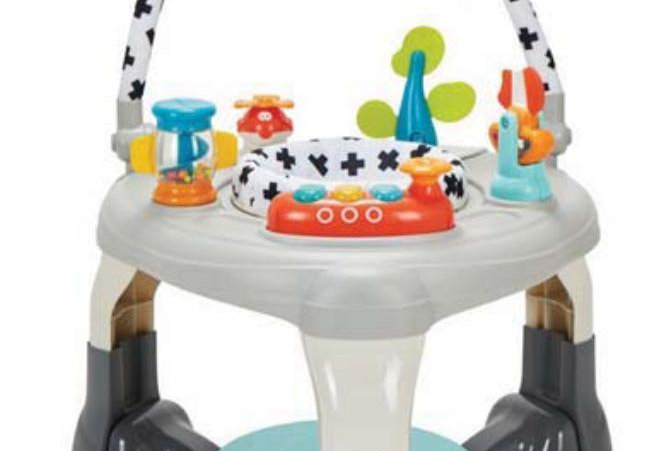 Mychild My Lovely World 3-in-1 Activity Centre, Bouncer & Play Table