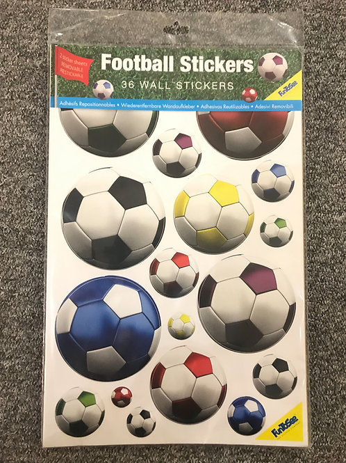 Fun to See Mini Wall Art Stickers - Football