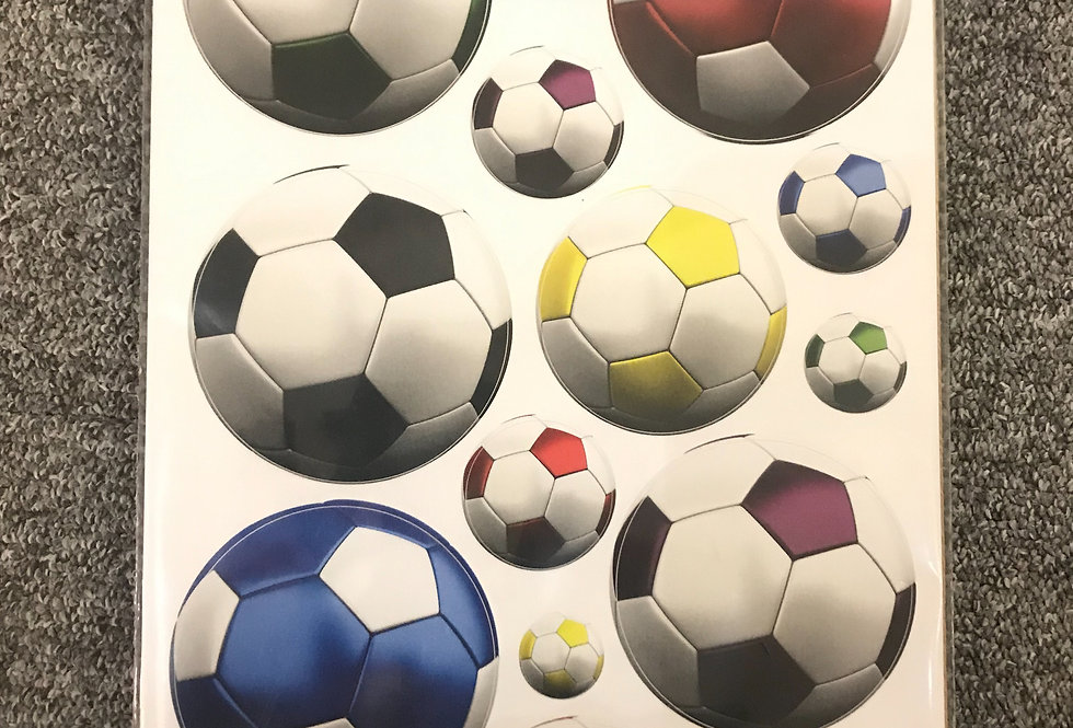 Fun to See Mini Wall Art Stickers - Football